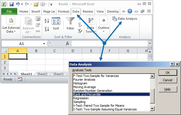 how to add data analysis toolpak in excel 2010