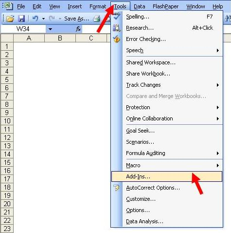 how to add analysis toolpak in excel 2011 for mac