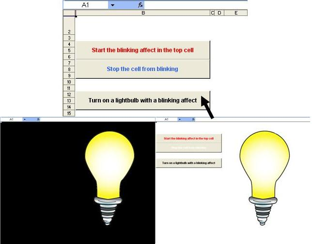 Tom's Tutorials For Excel: Blinking Cells and Flashing