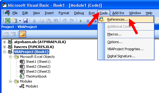 Tom's Tutorials For Excel: Exporting VBA Module Code to a