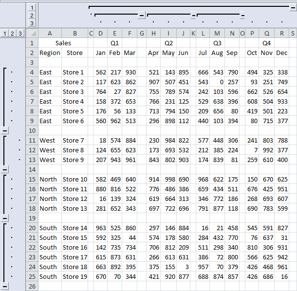 Tom's Tutorials For Excel: Toggling to Show or Hide Your