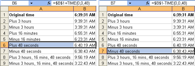 Tom's Tutorials For Excel: Adding and Subtracting Time in Hours