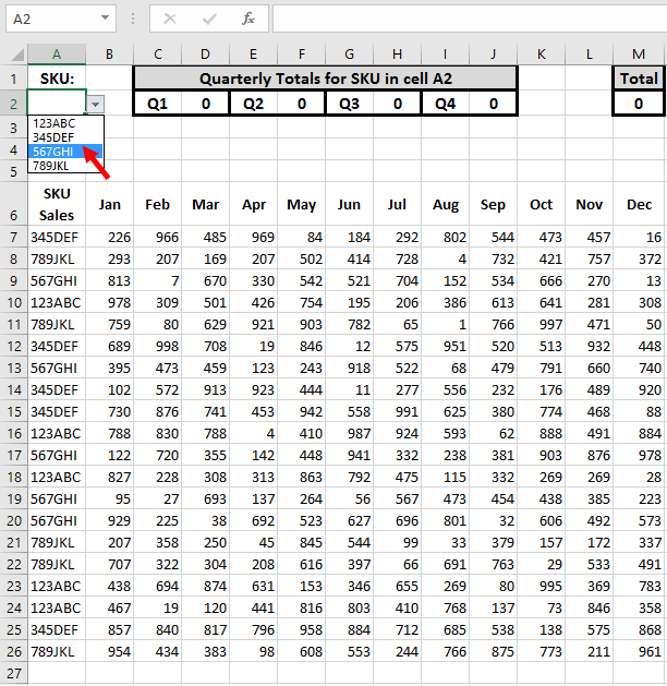 Tom's Tutorials For Excel: Using SUMPRODUCT on Multiple Columns – Tom Urtis