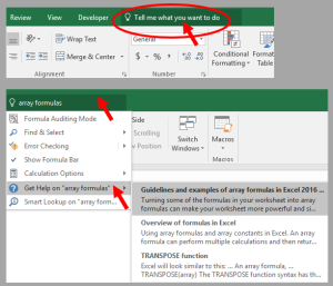 Tom's Tutorials For Excel: Introduced in Version 2016, the
