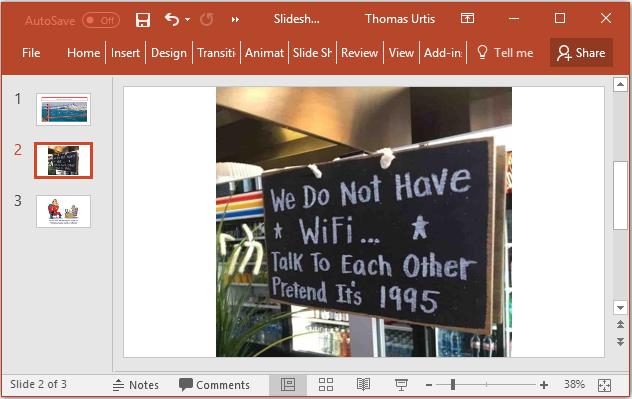 Tom's Tutorials For Excel: Running a PowerPoint Presentation